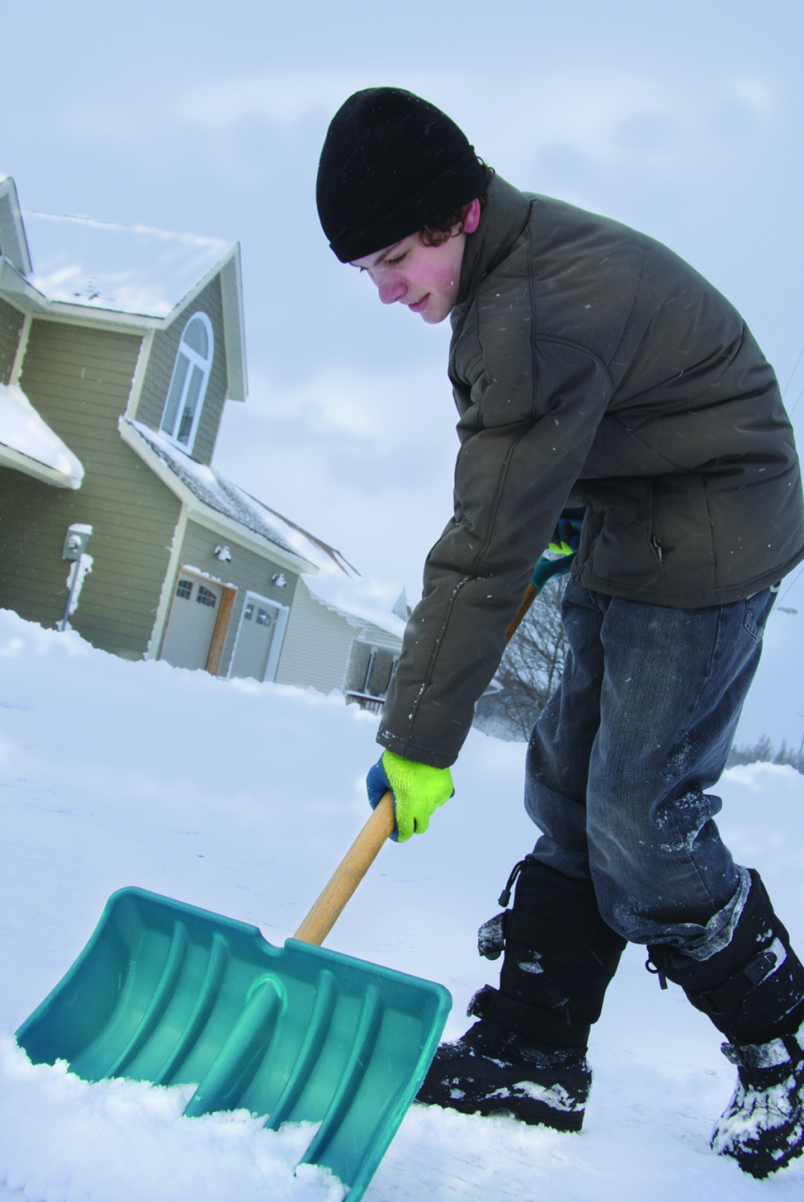Green ways to clean up snow | Davis Custom Cabinets