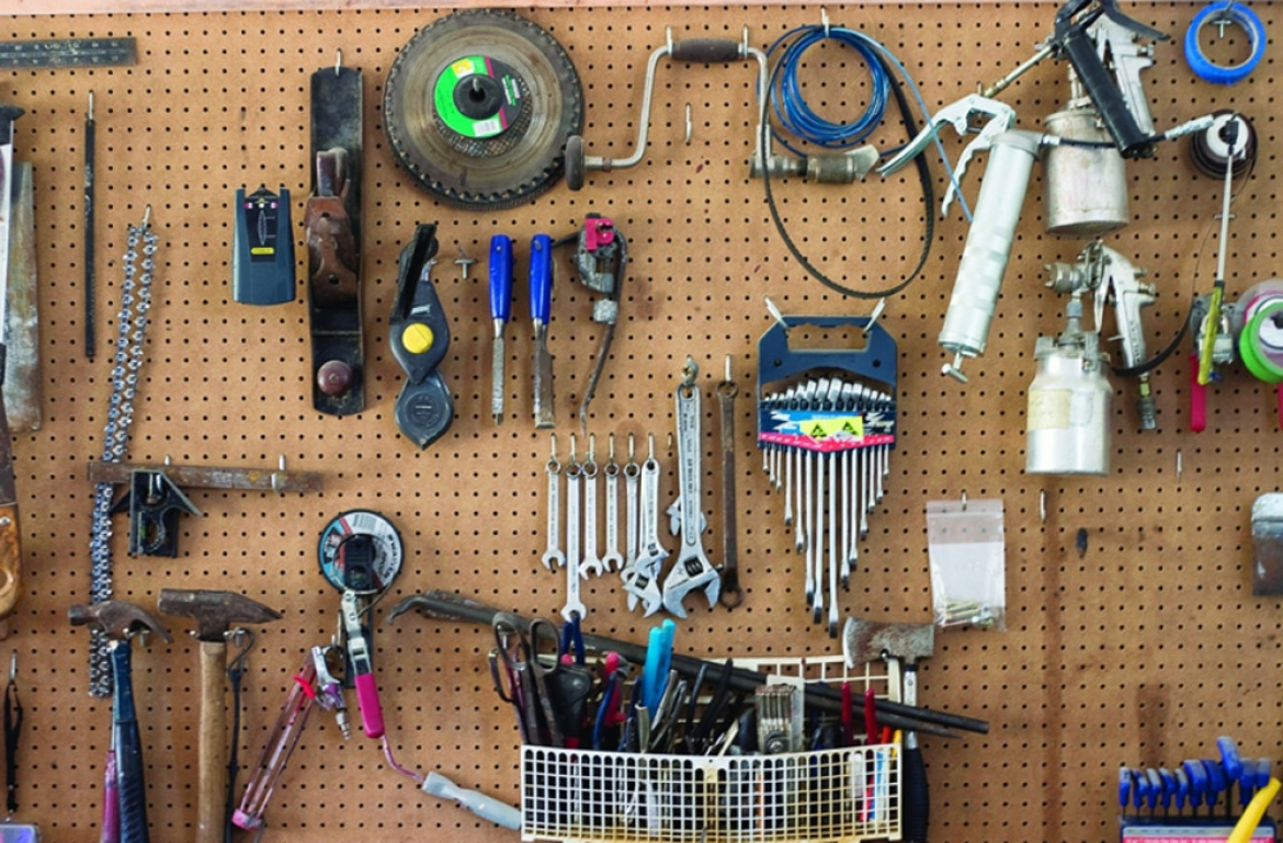 Secrets to Keeping an Organized Shed | Davis Custom Cabinets