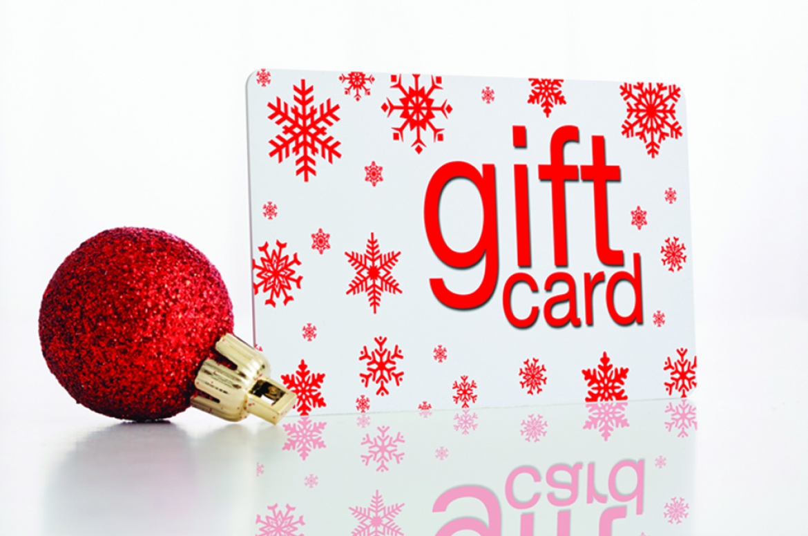 How to give holiday gift cards | Davis Custom Cabinets